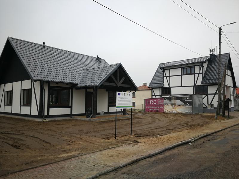 Zakończenie robót budowlanych świetlicy wiejskiej w Rokitach